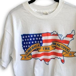 Vintage Dead-stock America the Beautiful Tee